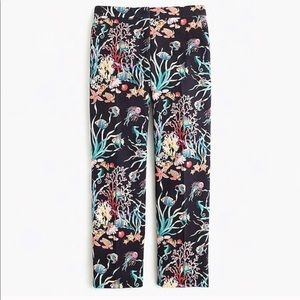 NWT J Crew Collection Patio Pant in Under The Sea